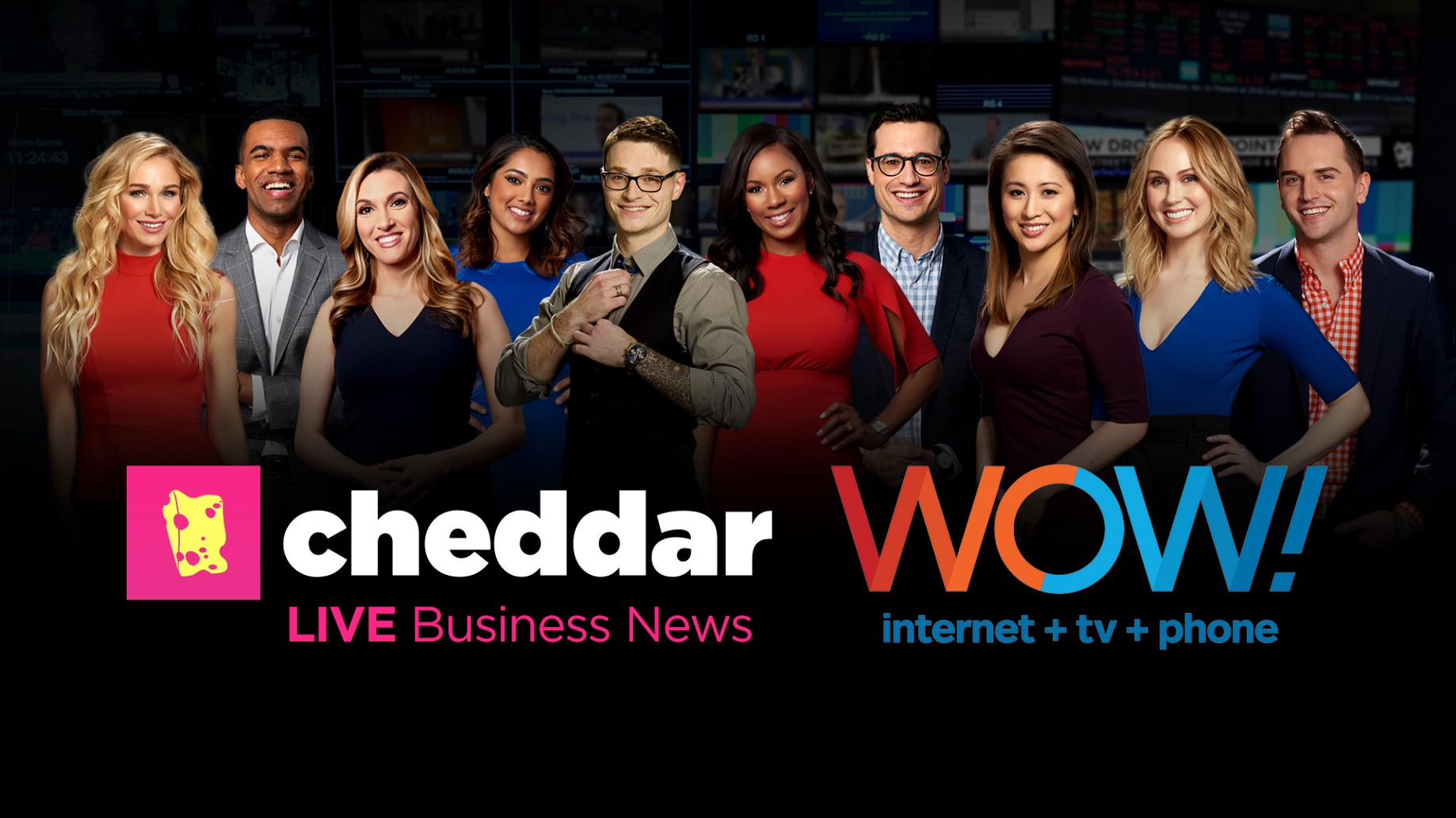 WOW! Introduces Cheddar to Nearly 400,000 Video Subscribers