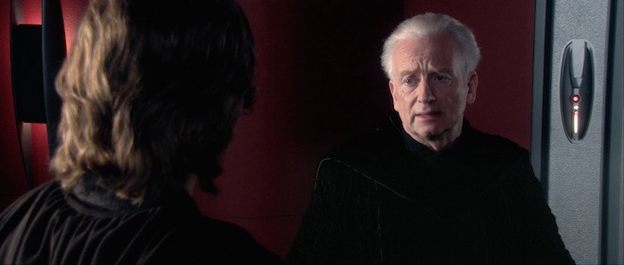 Image result for episode 3 revenge of the sith Palpatine sith lord
