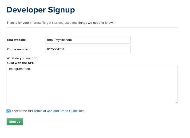 How to get Instagram API access token and fix your broken feed