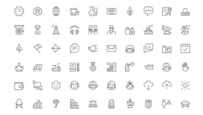 70+ Icons and Icon Libraries for Sketch - Sketch Hunt - Medium