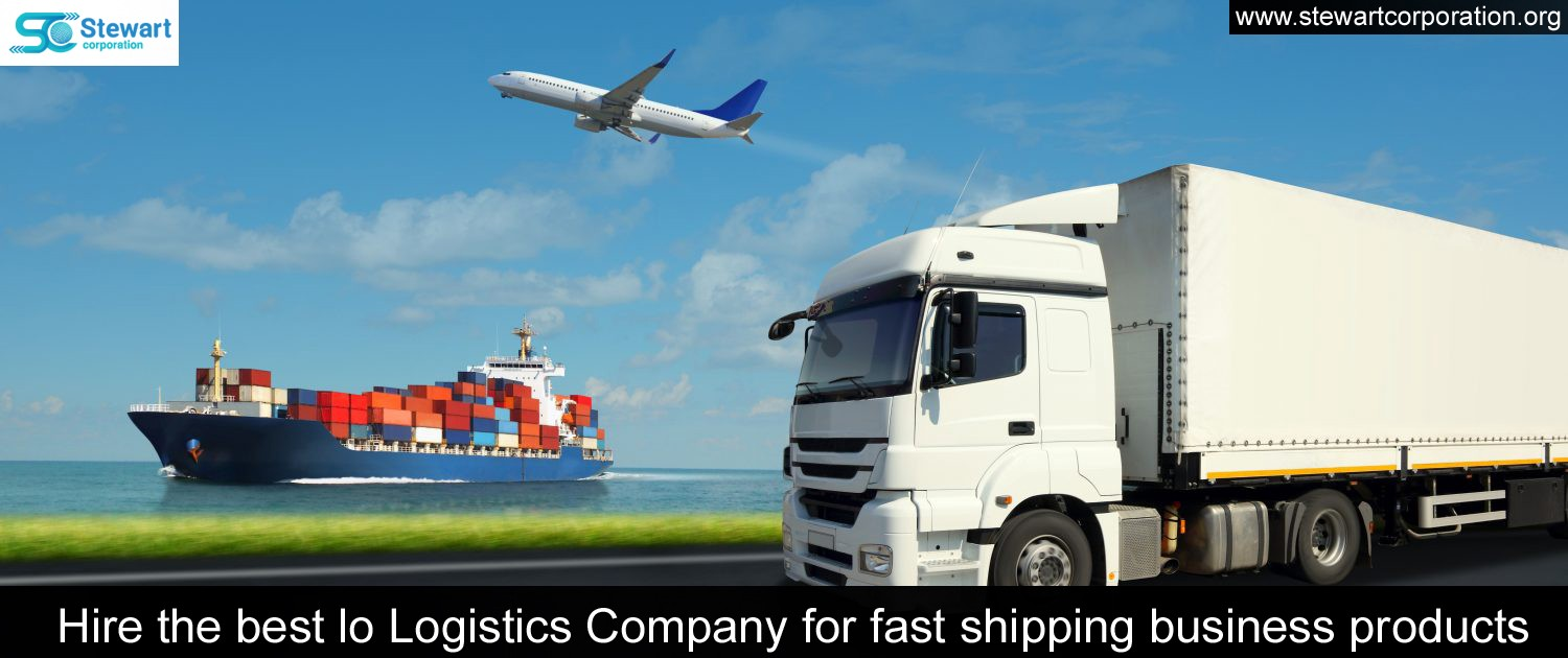 Hire the best lo Logistics Company for fast shipping business products