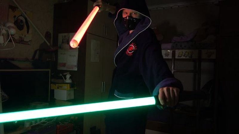 The Force Is Strong with This RGB Lightsaber - Hackster Blog