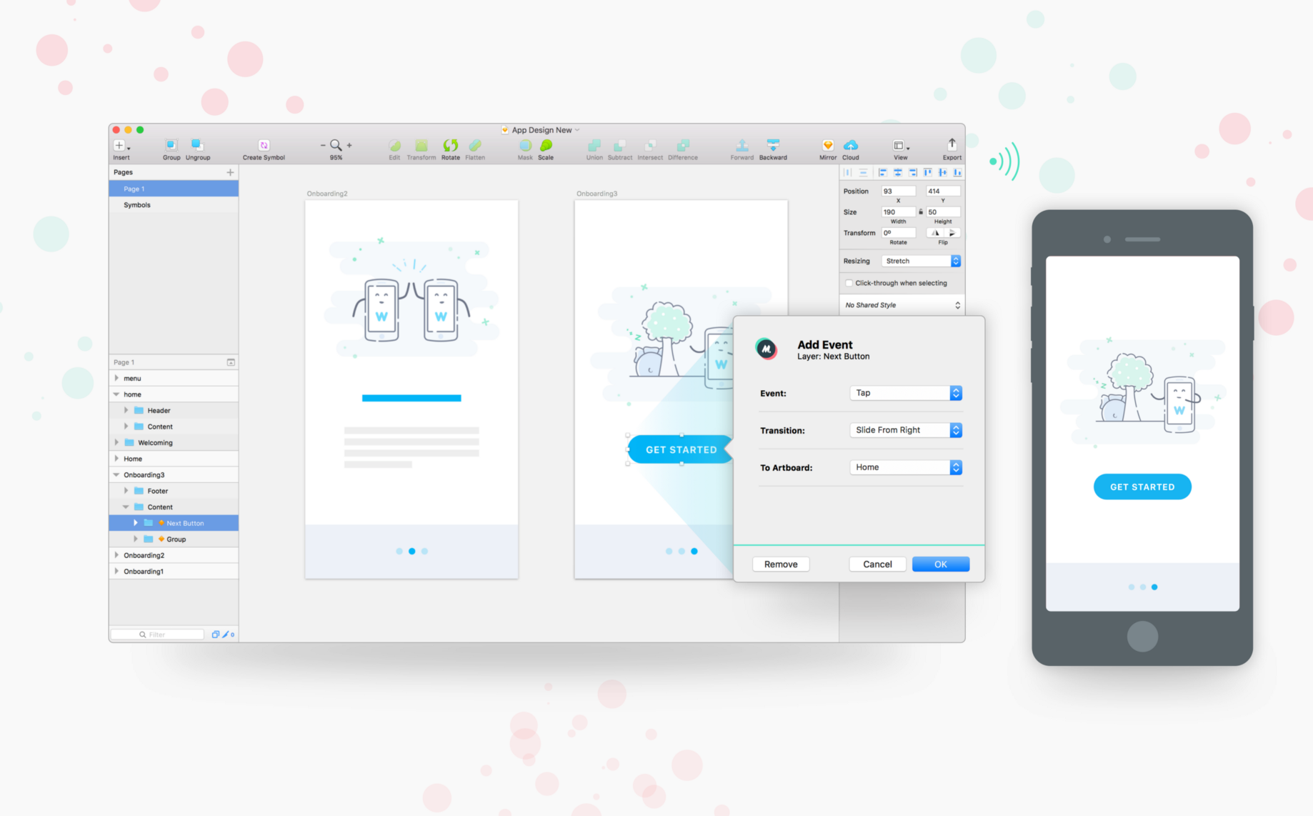 Mirr io — turn Sketch files into shareable prototypes, without