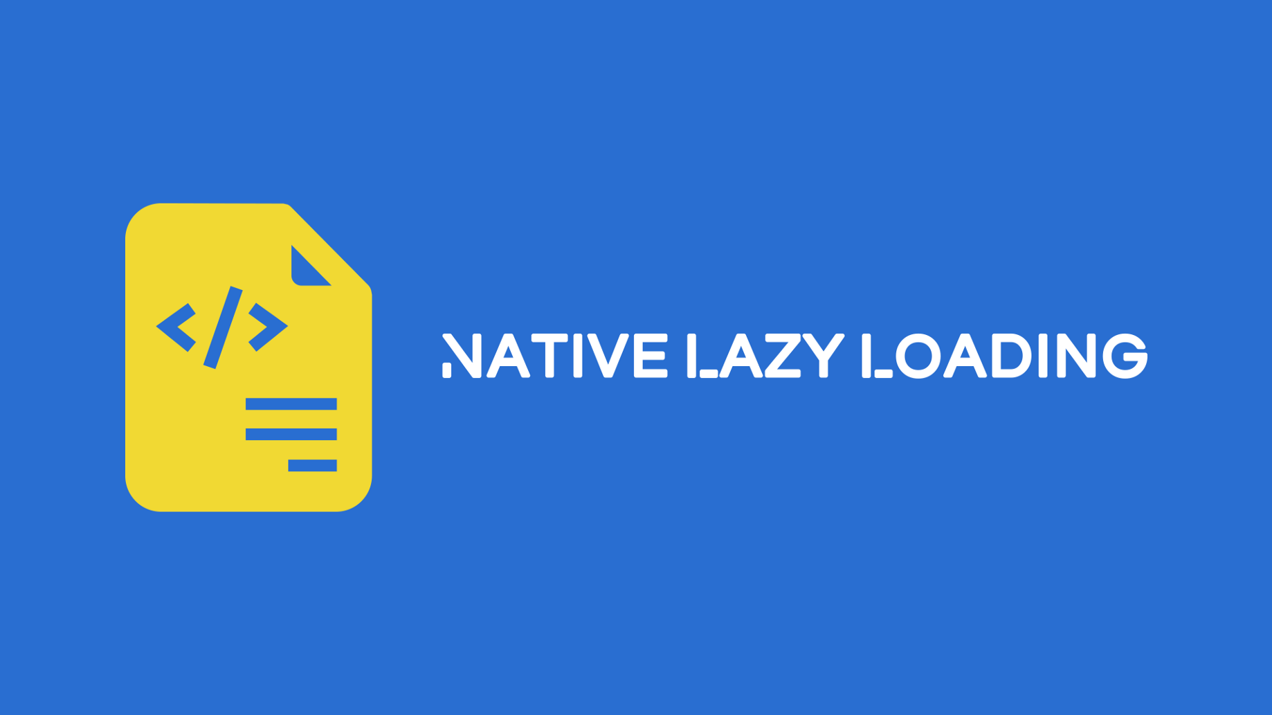 Native lazy loading of images and iframes - Grigor Khachatryan - Medium