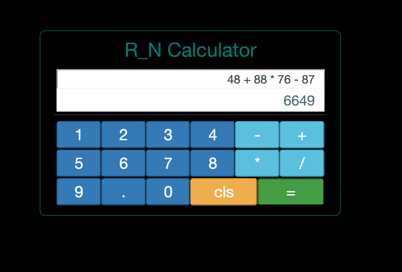 A simple Calculator app using React and Node - codeburst