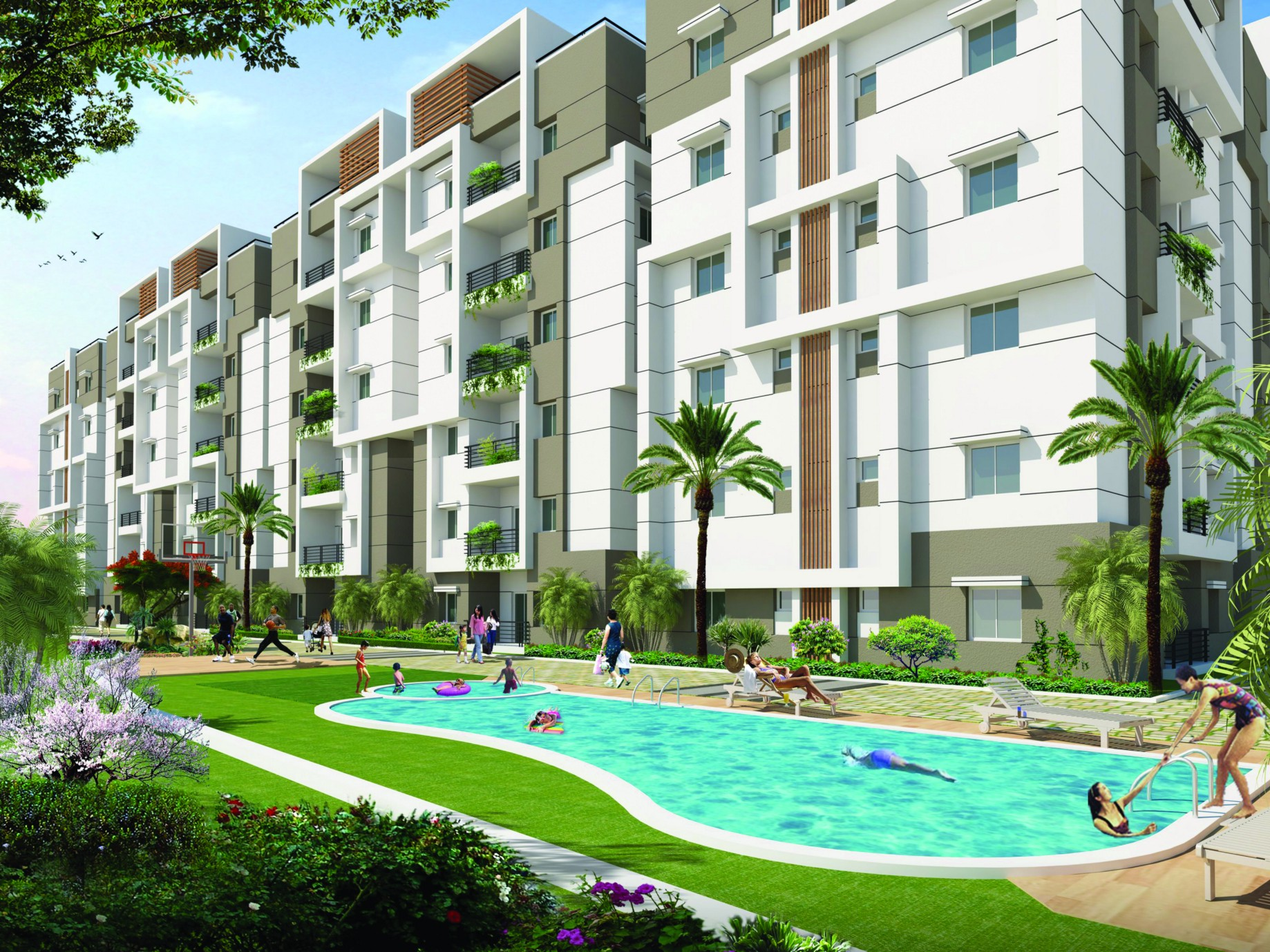 Luxury Apartments In Mehdipatnam Hyderabad Residential Flats In