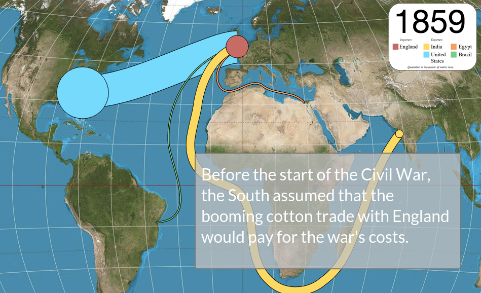 Visualizing 19th Century Cotton Trade - Peter Gault