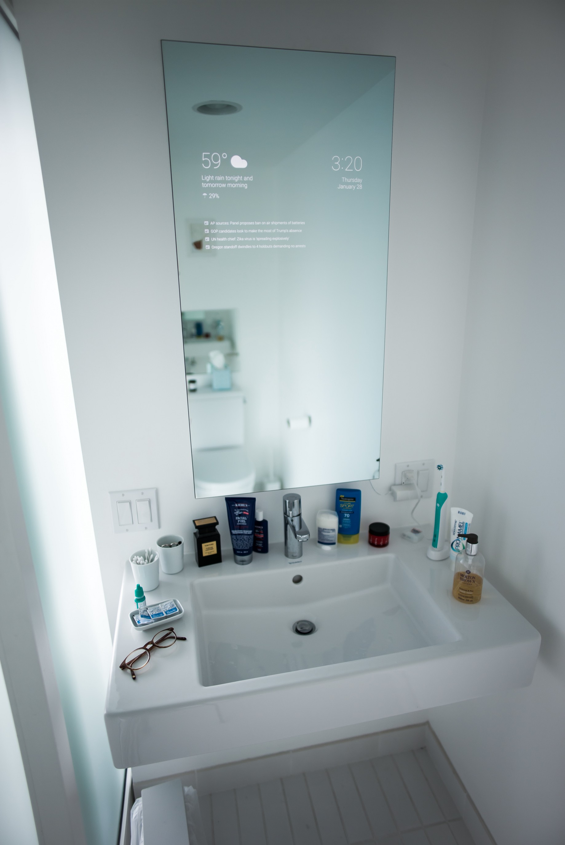 My Bathroom Mirror Is Smarter Than Yours By Max Braun Onezero