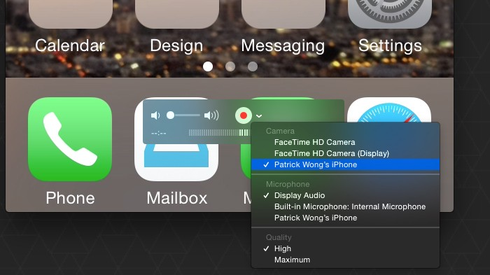 How to mirror your iPhone with a Lightning USB cable in OS X