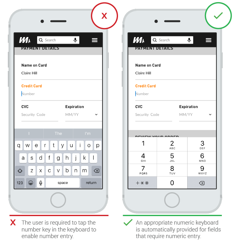 Text Fields in Mobile App - UX Planet