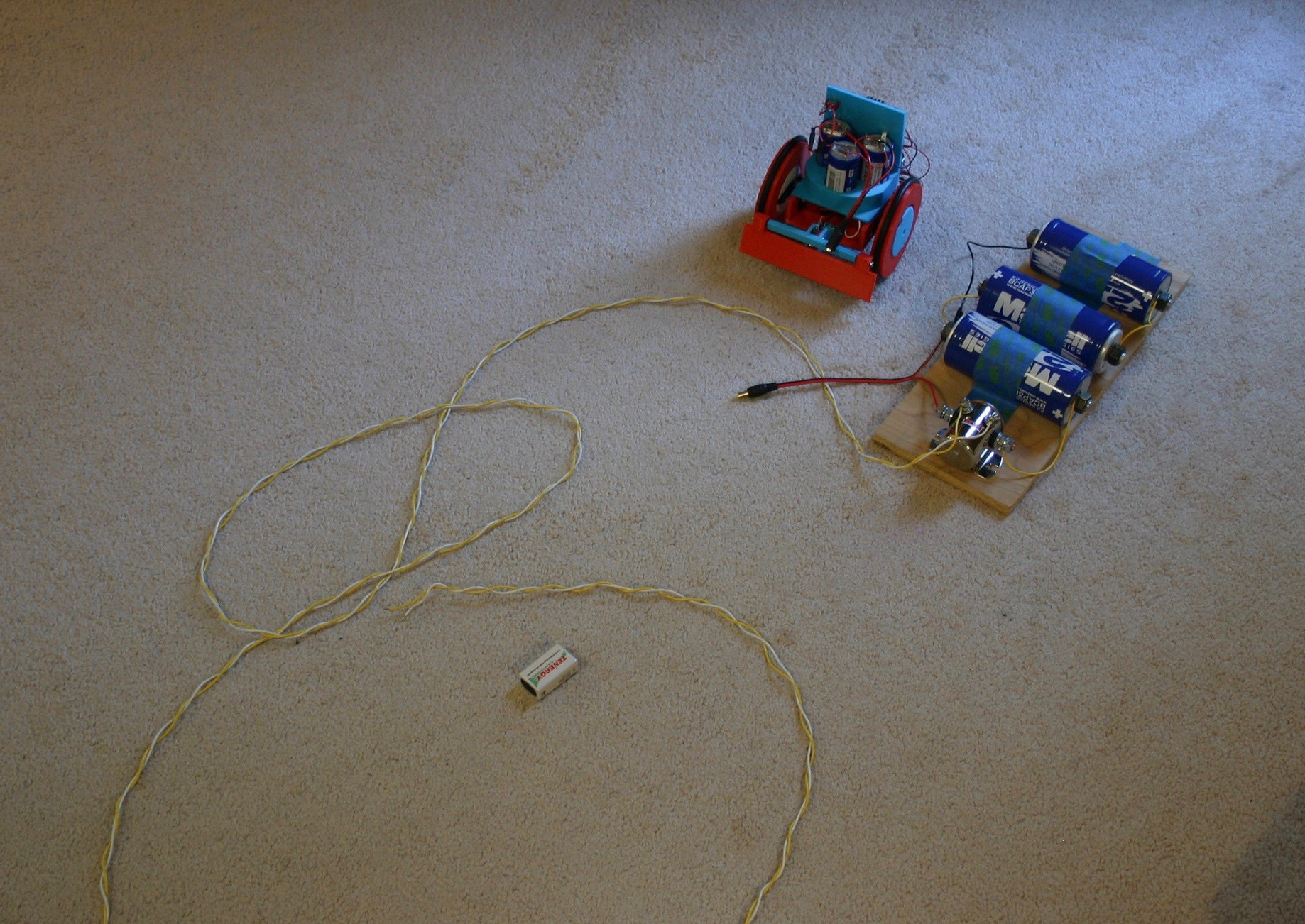 Supercapacitor Rover Charges in 10 Seconds - Hackster Blog