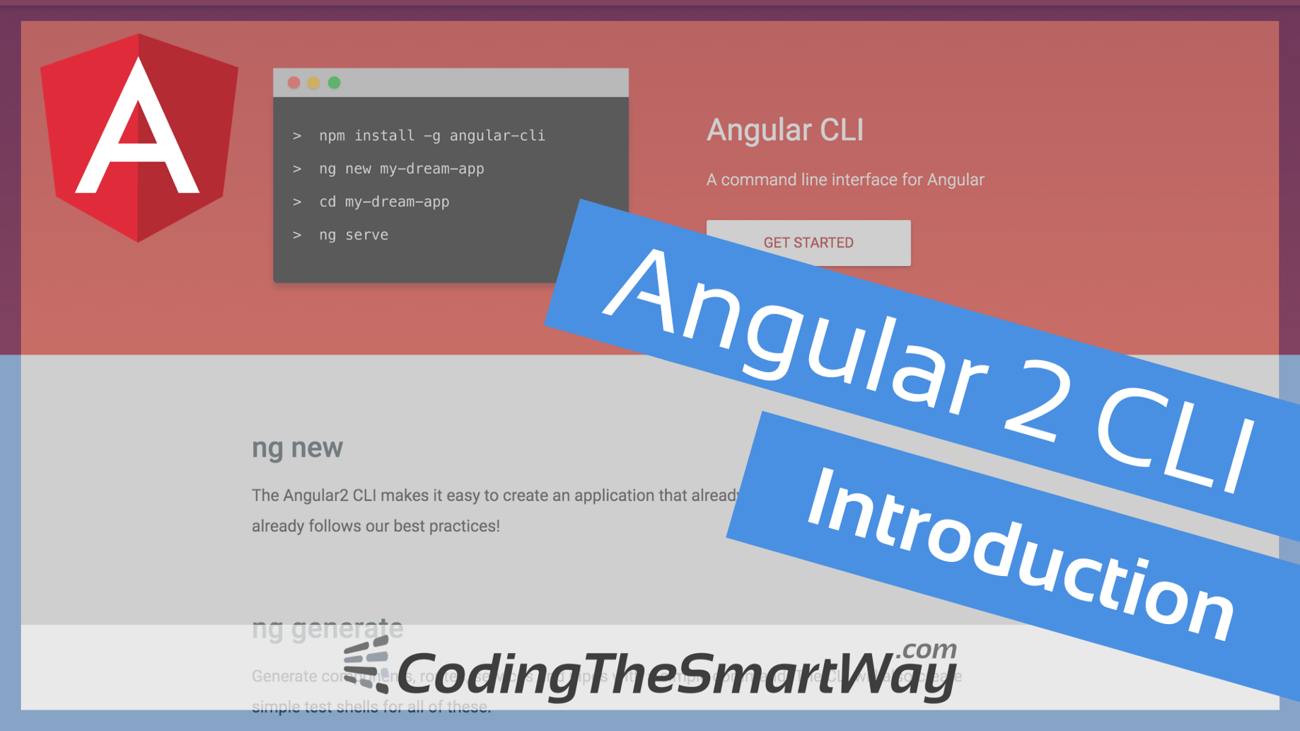 Angular 2 CLI (Command Line Interface) — Introduction