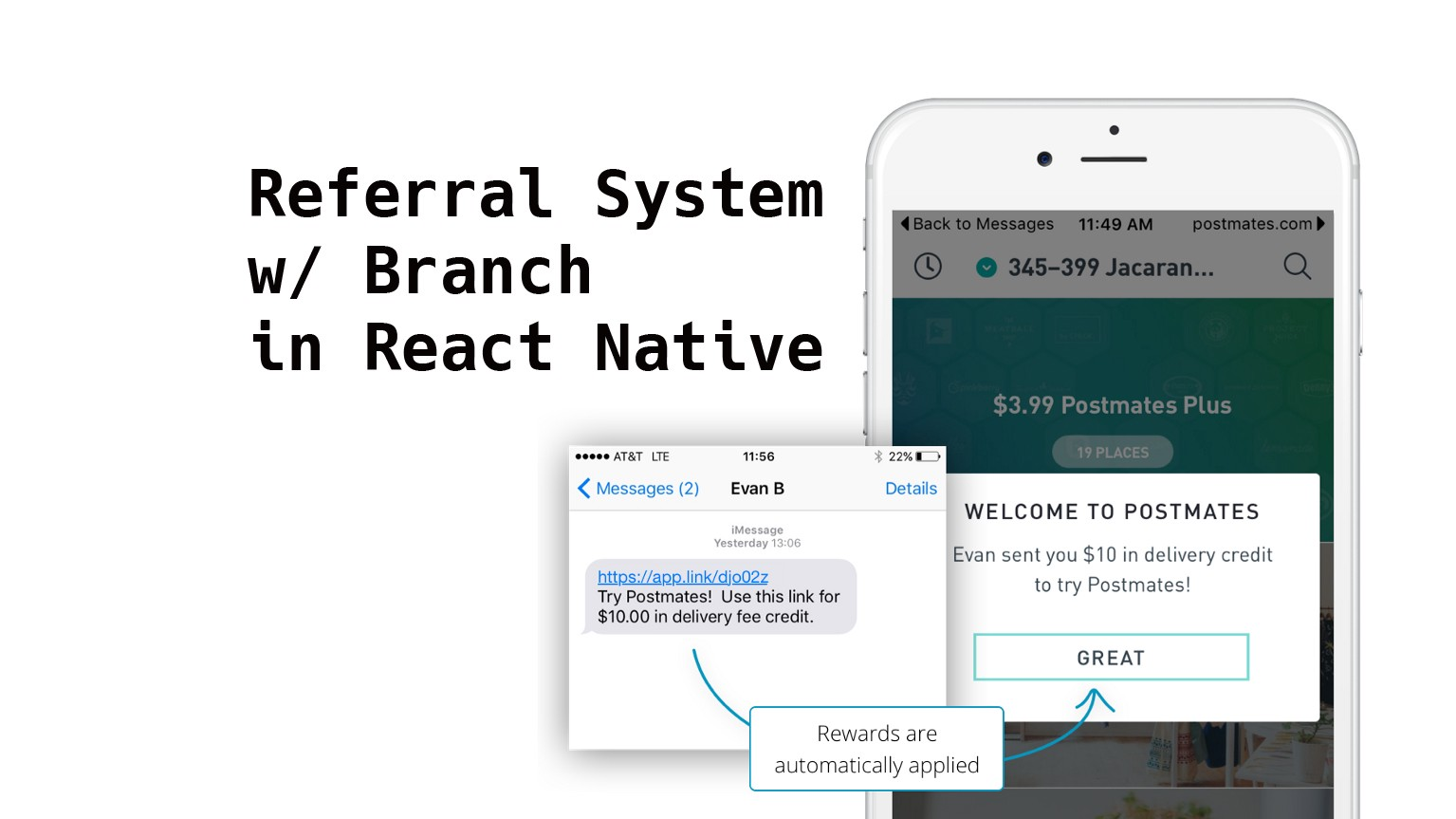 Creating a Referral System Using Branch in React Native