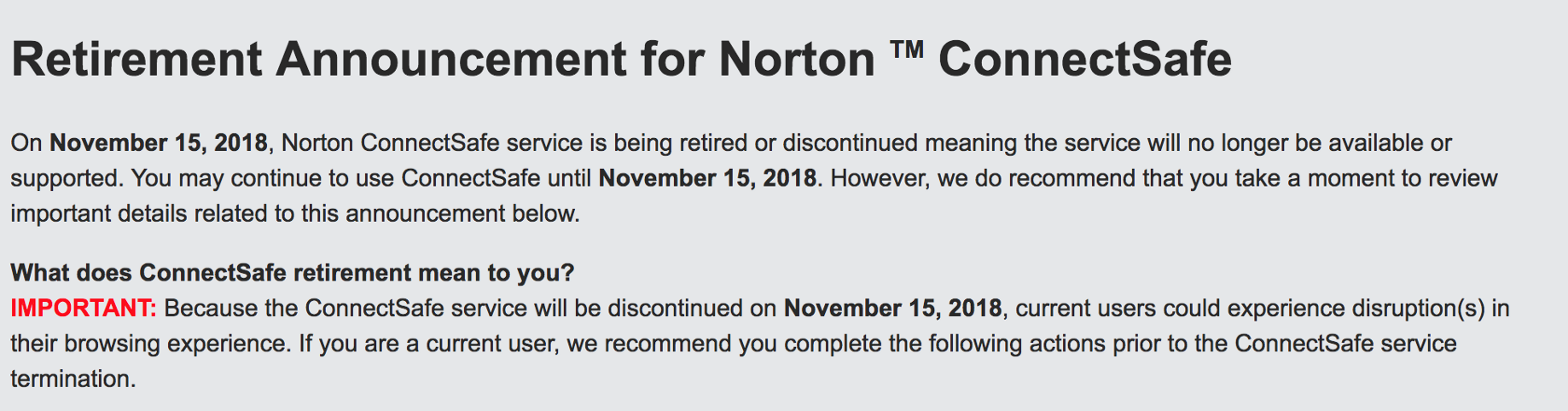 Norton ConnectSafe DNS is shutting down — This is what you need to do