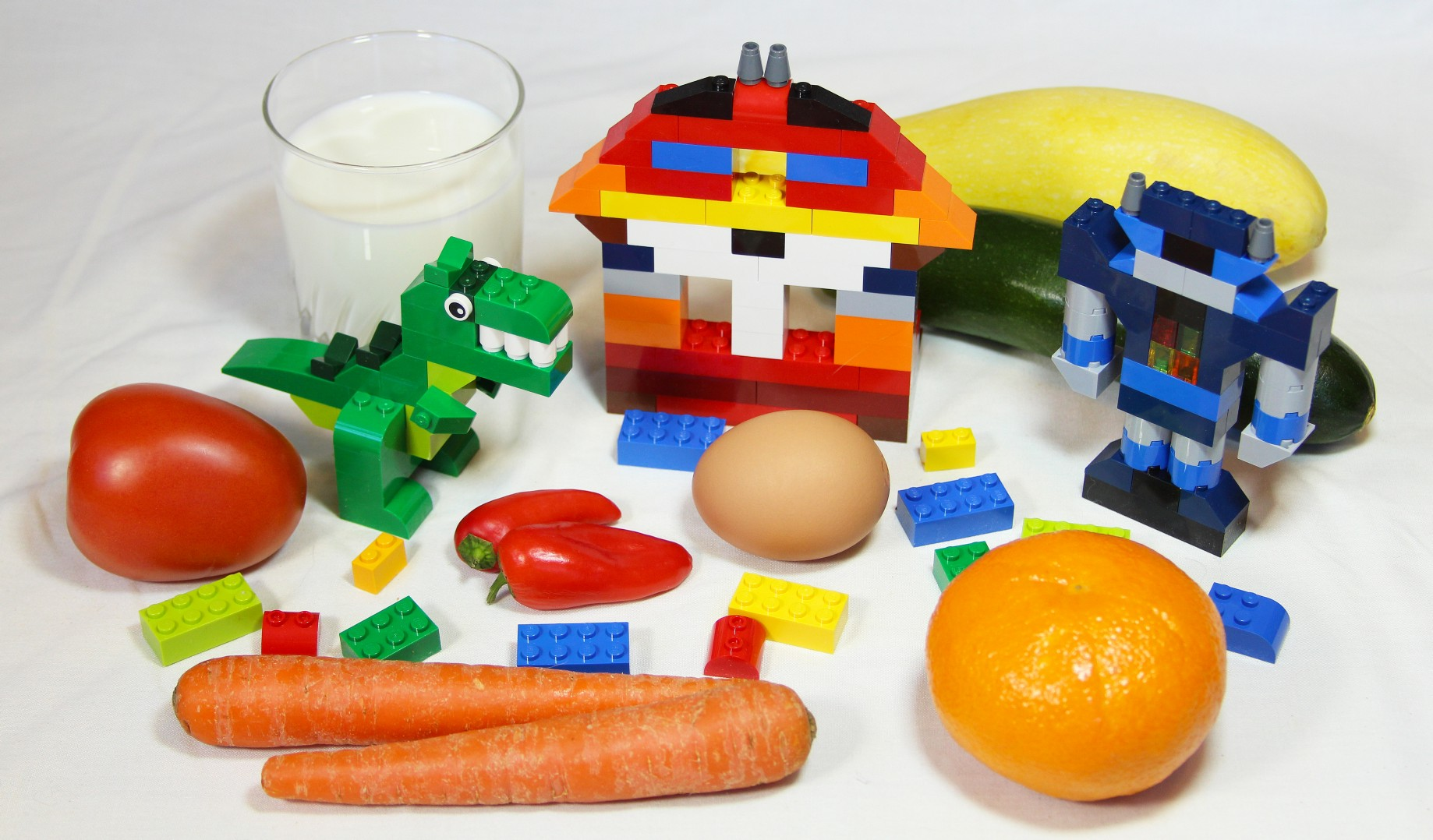 Digesting Food is Like Playing with Lego Blocks - The Philipendium