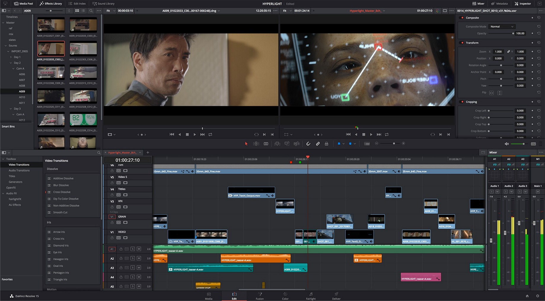 Workaround for audio drop-off — Davinci Resolve - Tsutomu Kawamura