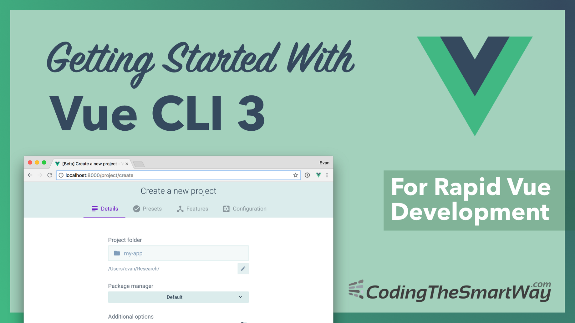 Getting Started With Vue CLI 3 - CodingTheSmartWay com Blog - Medium