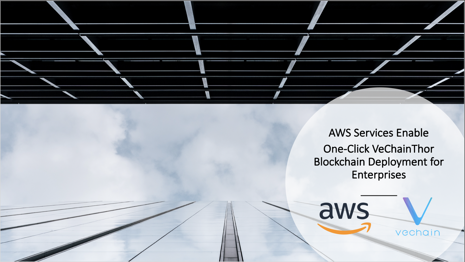 AWS Services Enable One-Click VeChainThor Blockchain Deployment for