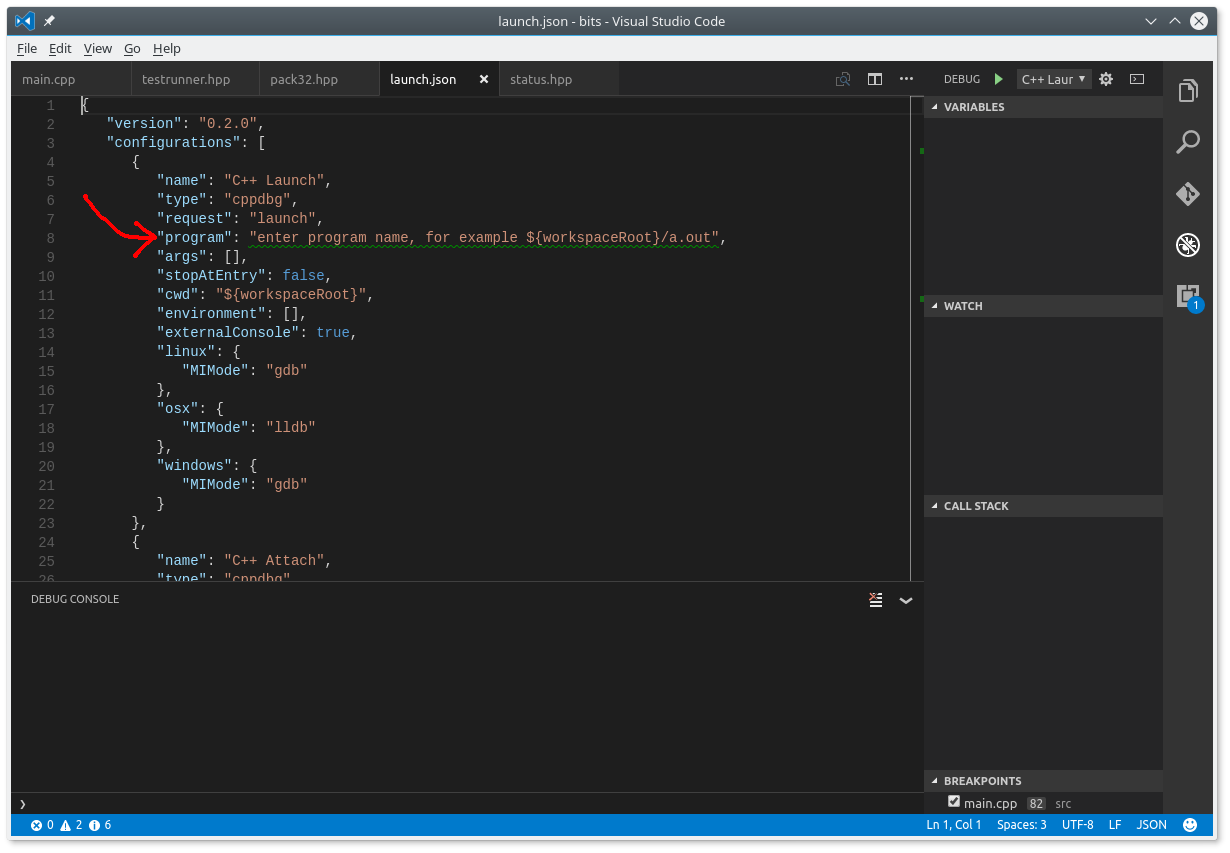 Debugging C++ with VSCode and GDB - Truth Hacker - Medium