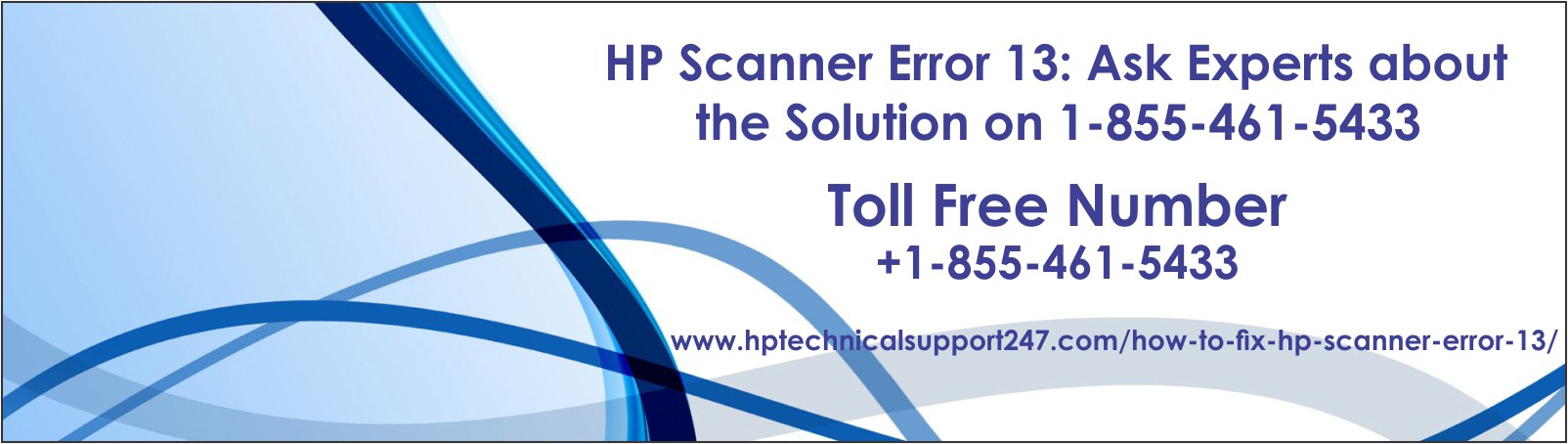 HP Scanner Error 13: Ask Experts about the Solution on 1–855