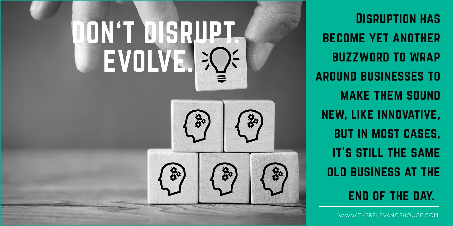 Becoming Just Another Corporate Old >> Don T Disrupt Evolve The Relevance House Medium