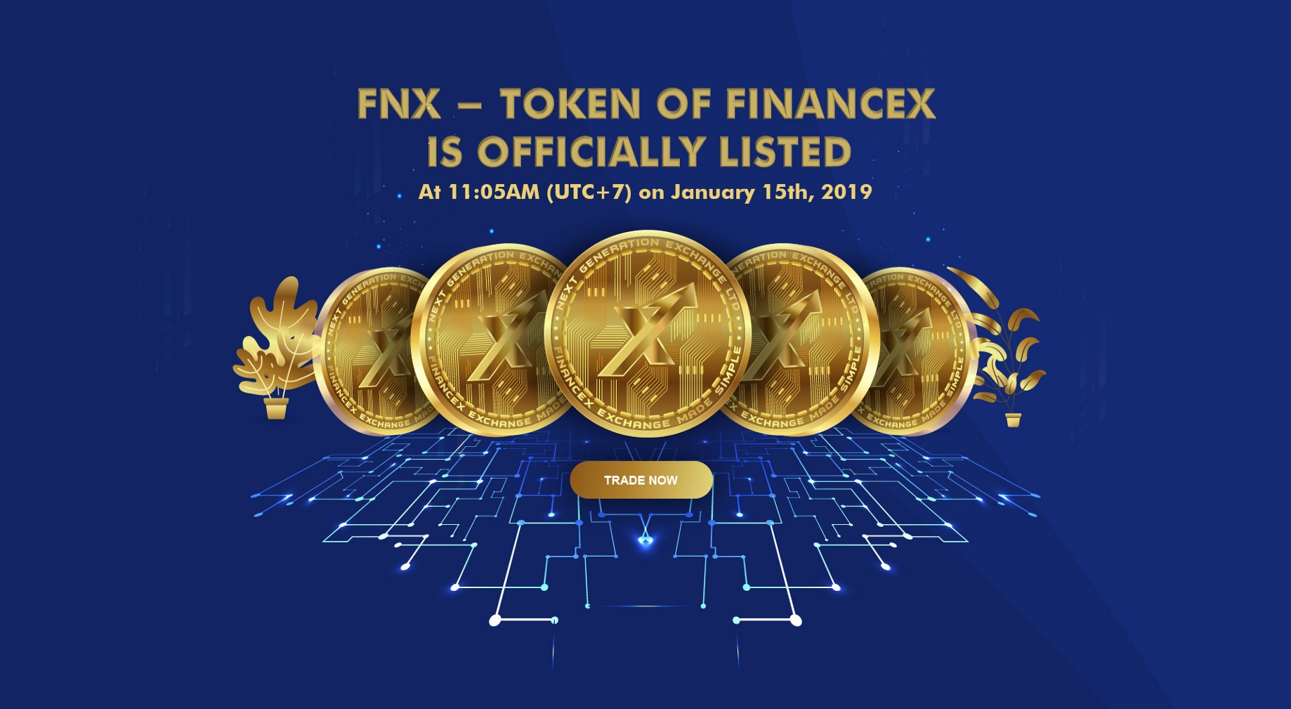 IMPORTANT milestone: FNX is Officially listed on FinanceX