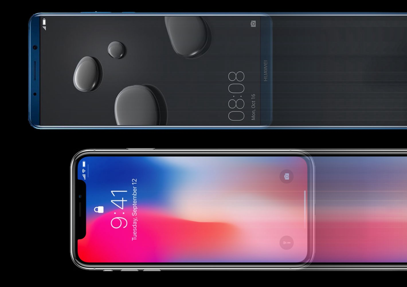 Huawei Mate 10 Pro vs  Apple iPhone X: The Ultimate Comparison