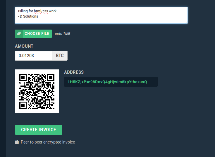 Peer to peer Bitcoin Invoice - Blockonomics Blog