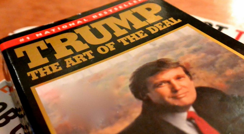 """What Donald Trump's """"The Art of the Deal"""" Reveals About His"""