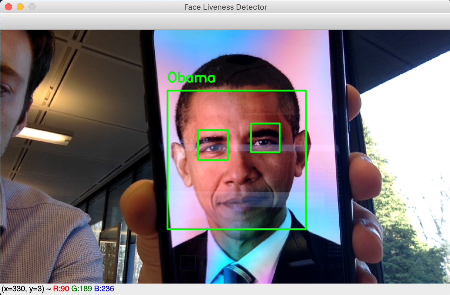 Real-time face liveness detection with Python, Keras and OpenCV