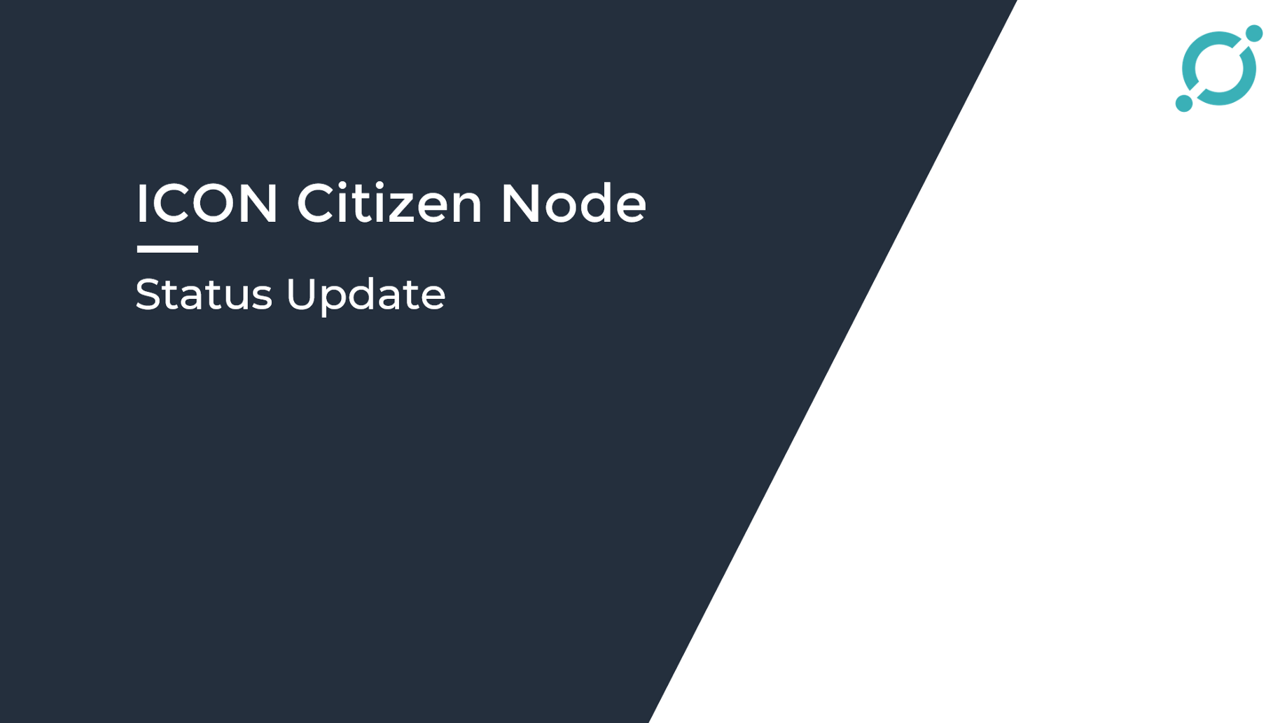 ICON Citizen Node Status Update - Hello ICON World - Medium