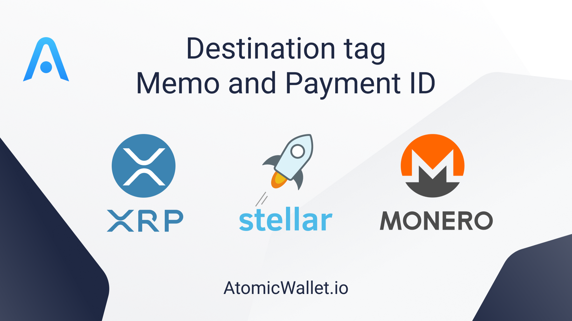 What is Destination Tag in XRP, XLM and XMR transfers