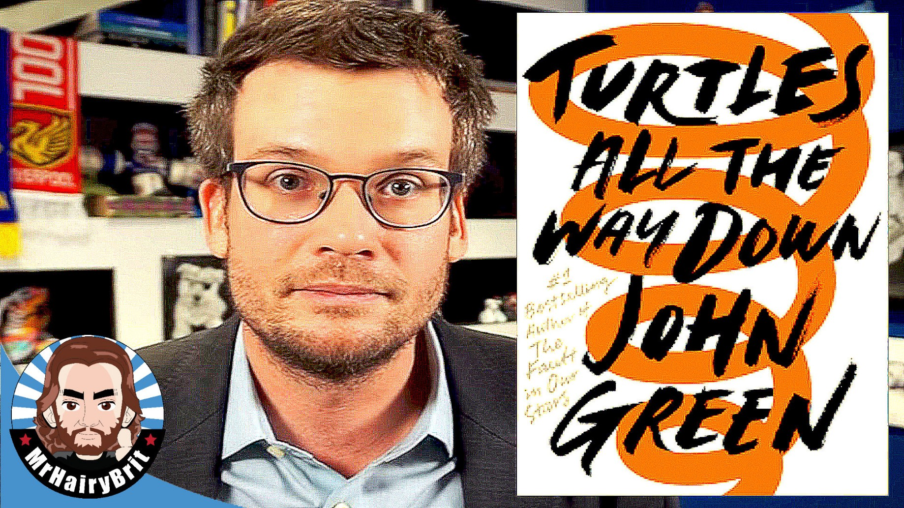 Turtles All The Way Down by John Green EXCITEMENT + FREE Audiobook