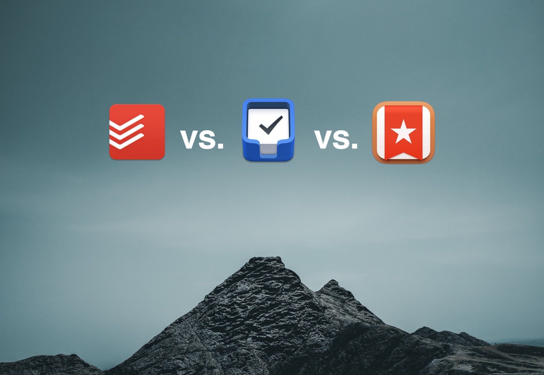 Todoist vs  Things 3 vs  Wunderlist - Jan Östlund - Medium