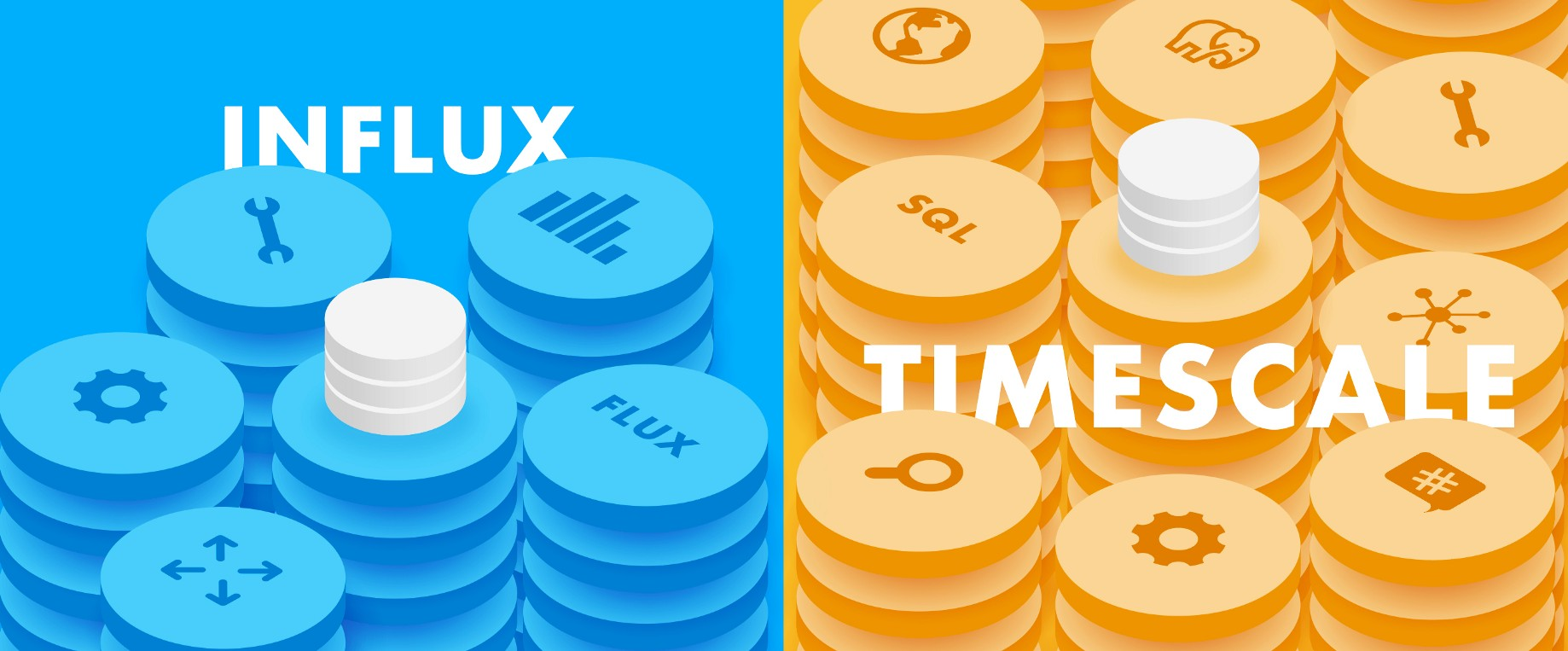 TimescaleDB vs  InfluxDB: purpose built differently for time-series data