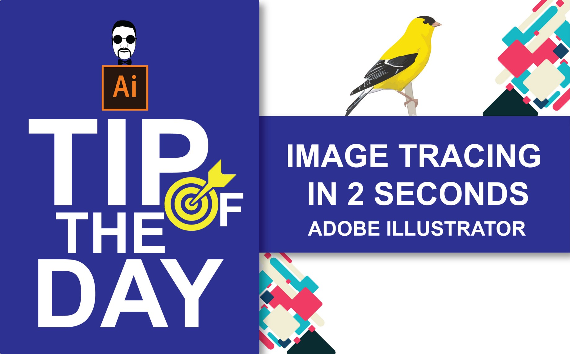 Learn How to Make a Vector Using Image Trace in Adobe Illustrator
