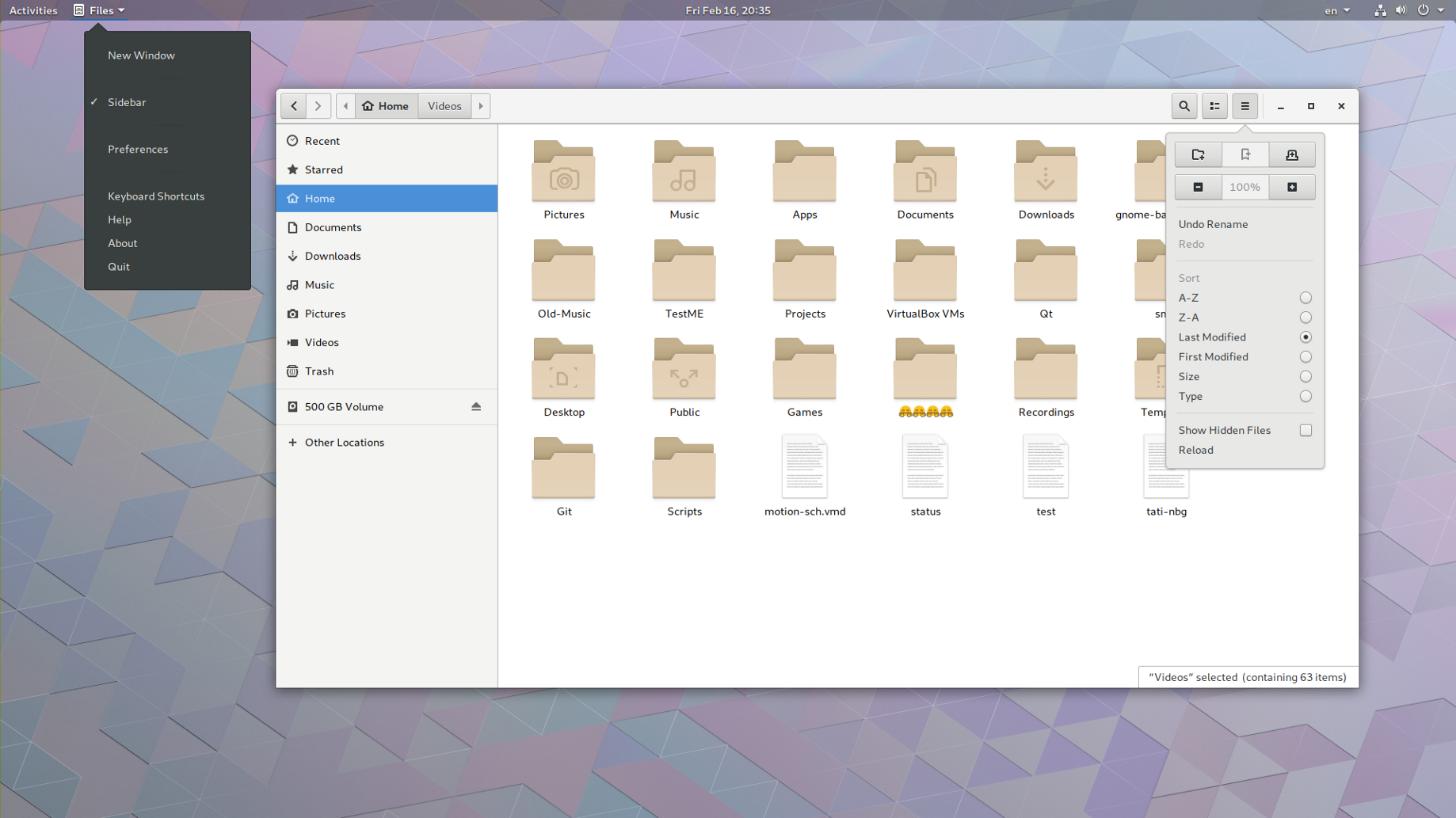In GNOME 3 28, Files Remains A Dumb Filemanager! - alex285 - Medium