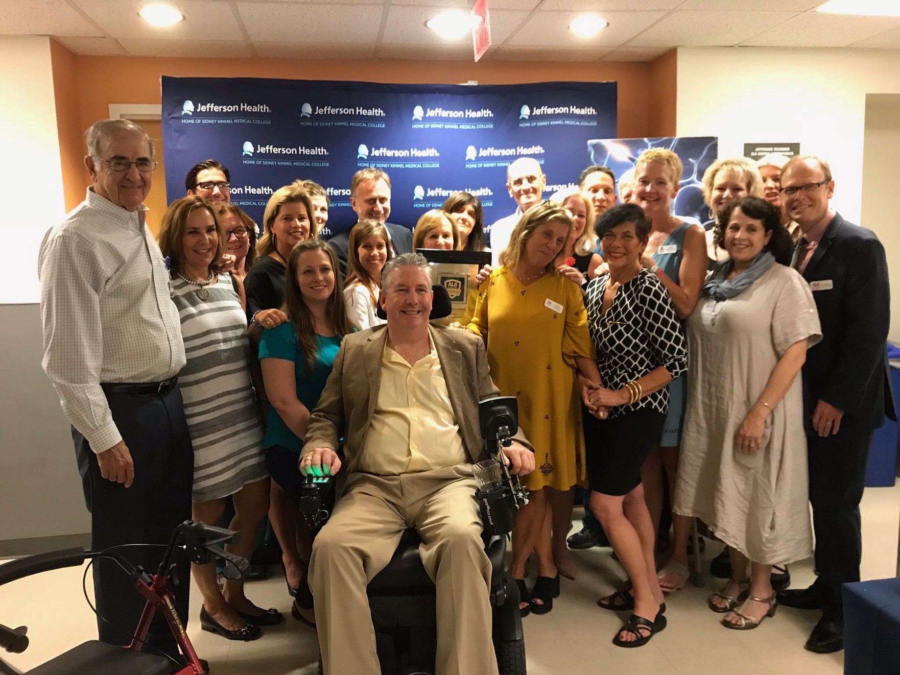 Milestone: Recognizing The Jefferson Weinberg ALS Center as an ALS