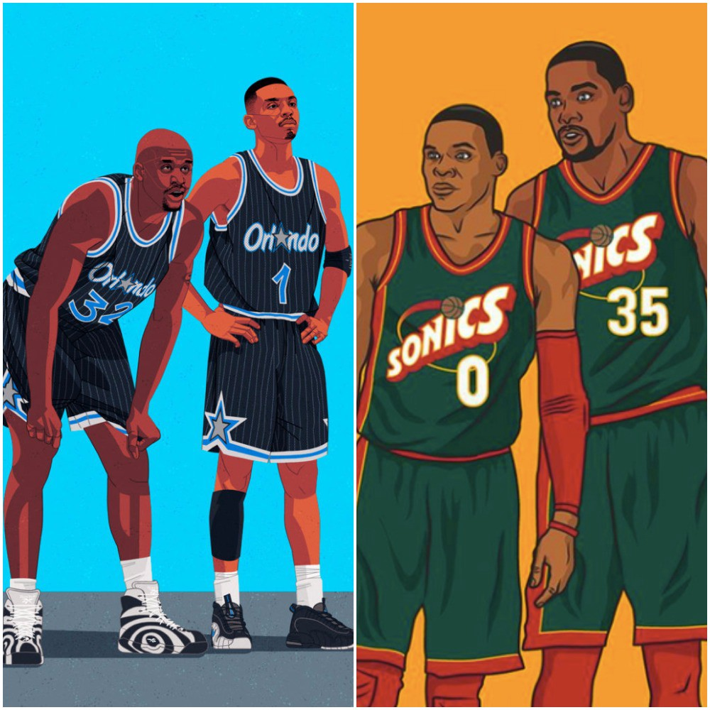 6d4378caddc70 The Ten Greatest 25-and-Under Duos in NBA History - Brad Callas - Medium