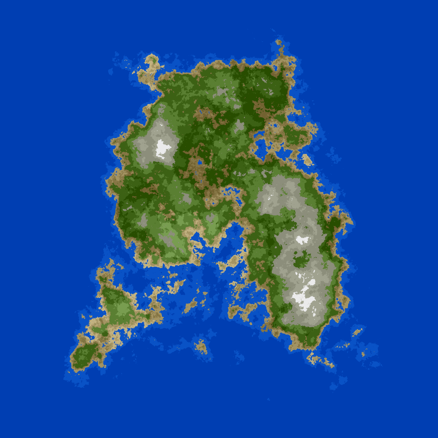 Procedural 2D Island Generation — Noise Functions - Travall - Medium
