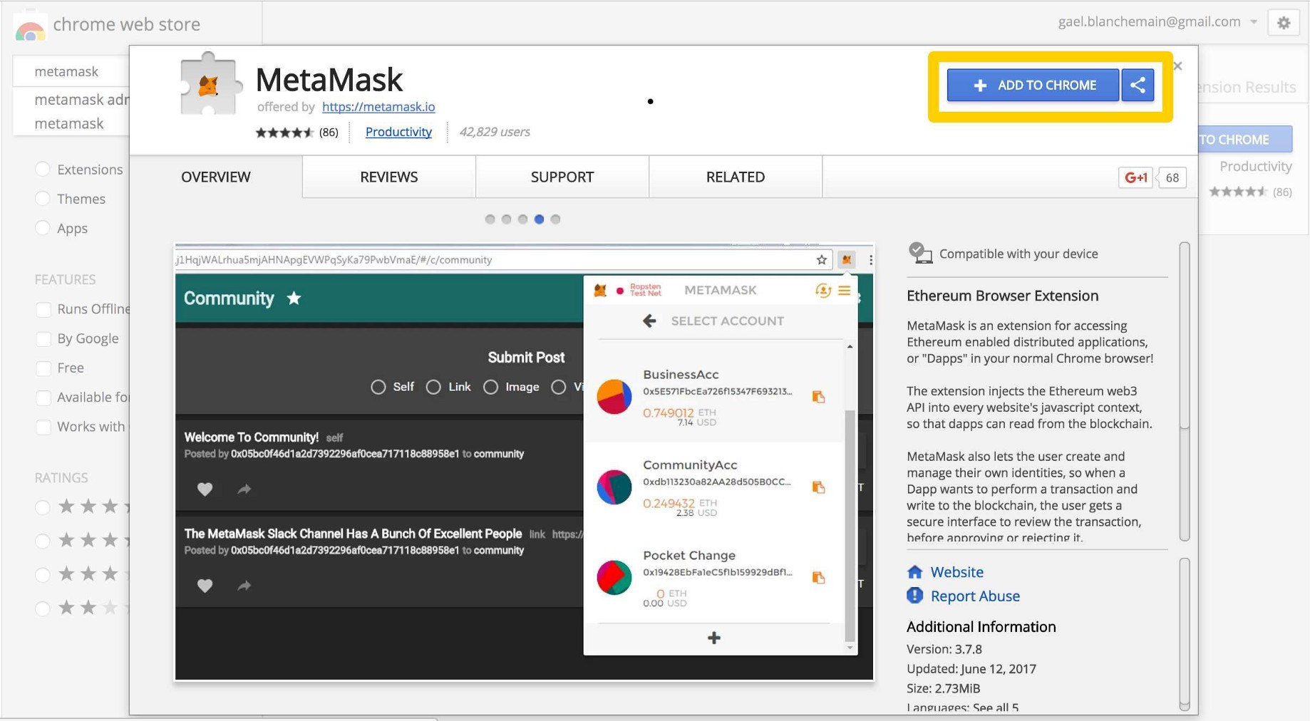 How to use MetaMask for Chrome - Ujo Music