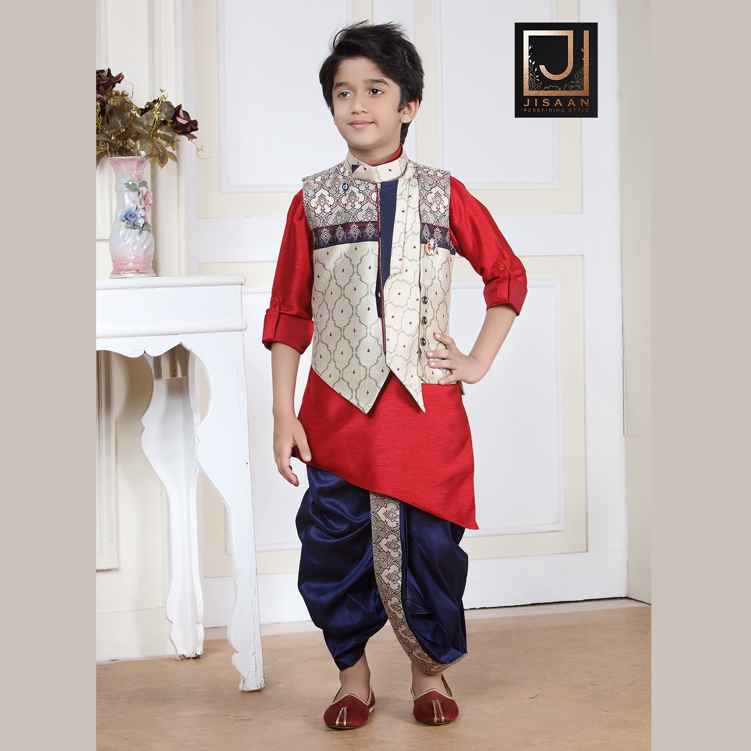 26bb0bb6c4 Designer kids ethnic wear manufacturer for marriage and cultural occasions.