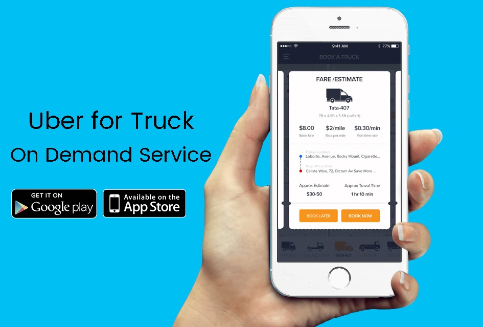 Start your own roadside assistance app with Uber for tow trucks