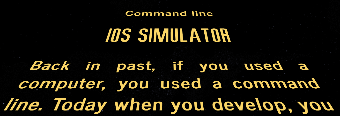 You don't need GUI — how to control iOS Simulator from command line