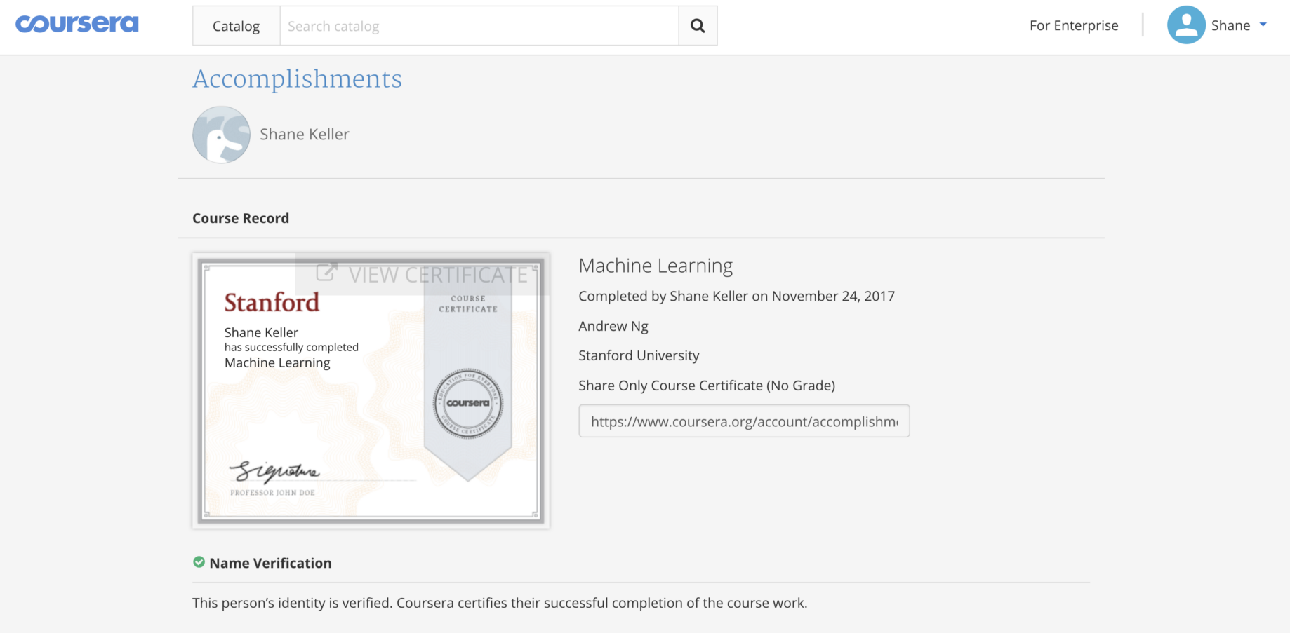 A review of Coursera's intro to machine learning course