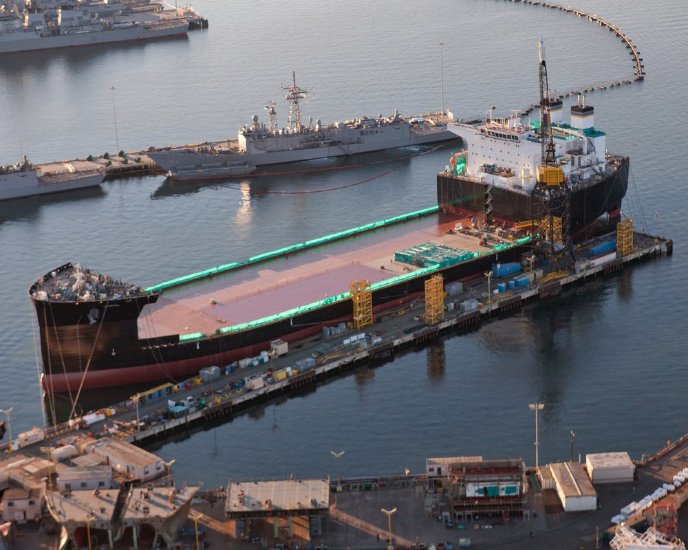 Oil Tanker-Turned-Aircraft Carrier Is Key to American Naval Expansion