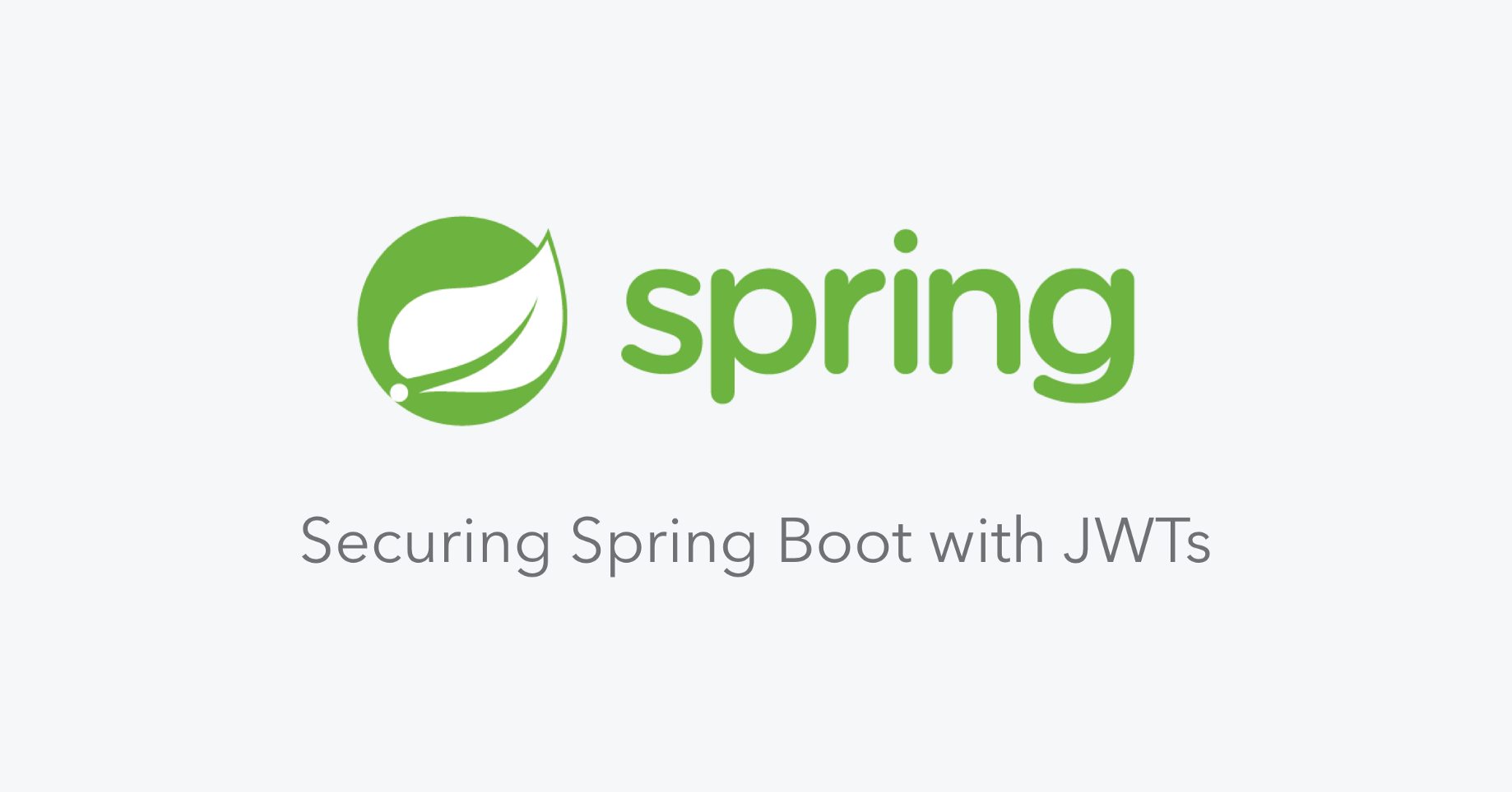 Securing Spring Boot with JWTs - Auth0 - Medium