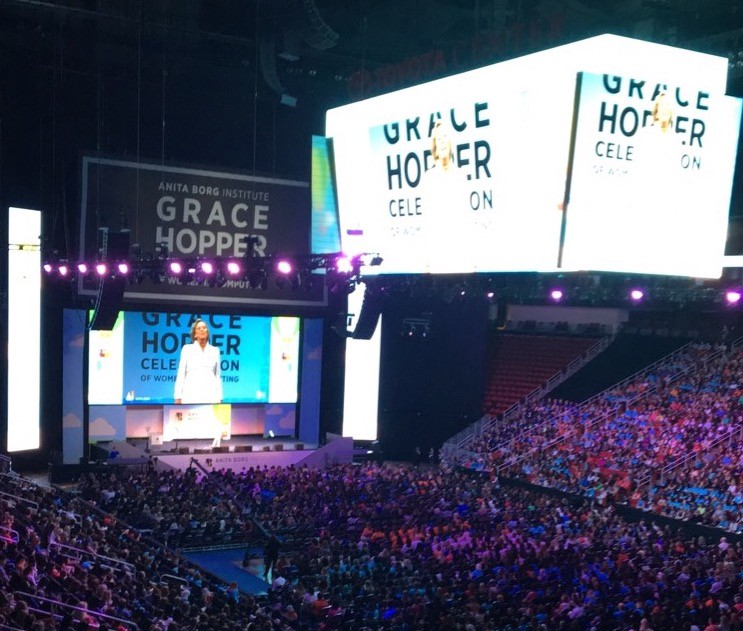 Tips for job hunting and interviewing at the Grace Hopper Conference