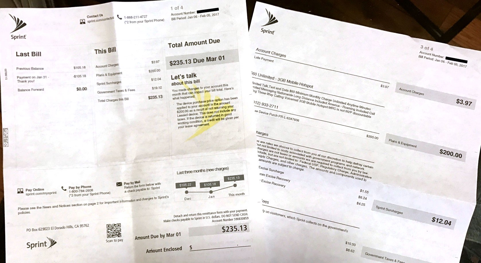 Sprint customers be warned: It's not easy return your leased phone
