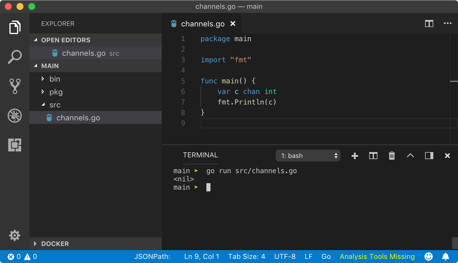 Anatomy of Channels in Go - Concurrency in Go - Run Go - Medium
